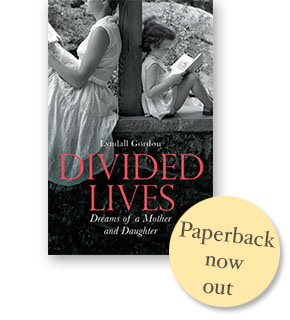 Divided lives, Paperback now out