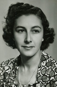 Lyndall Gordon's mother, Rhoda